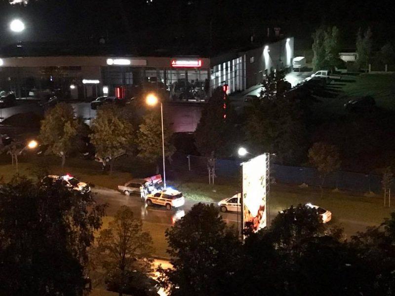 Automobilį Kaune suknežino dar vienas girtas bėglys