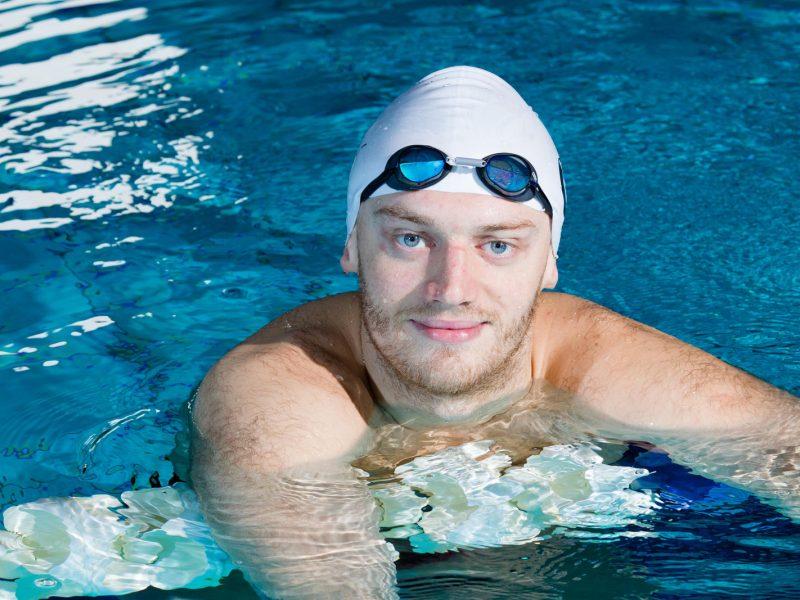 Plaukikui G. Titeniui Prancūzijoje nepavyko iškovoti antrojo medalio