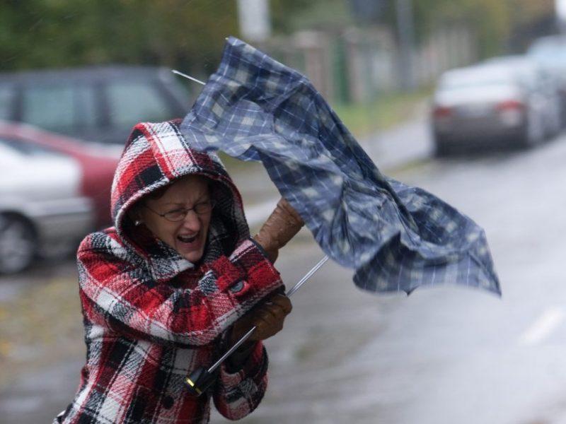 Sinoptikai įspėja: draskysis vėjas, galima ir kruša