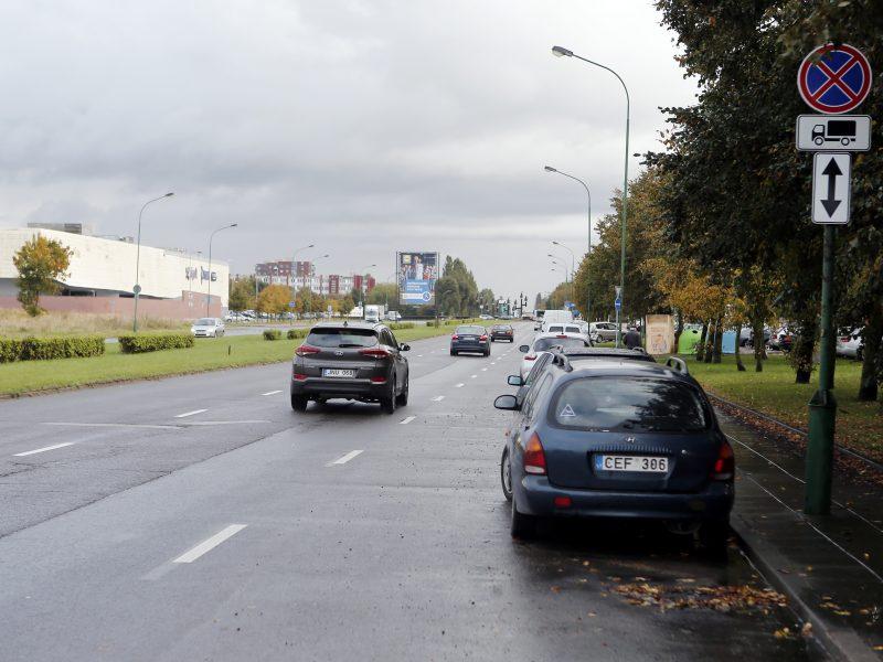 Baltijos prospekto dalyje – nauji draudimai?