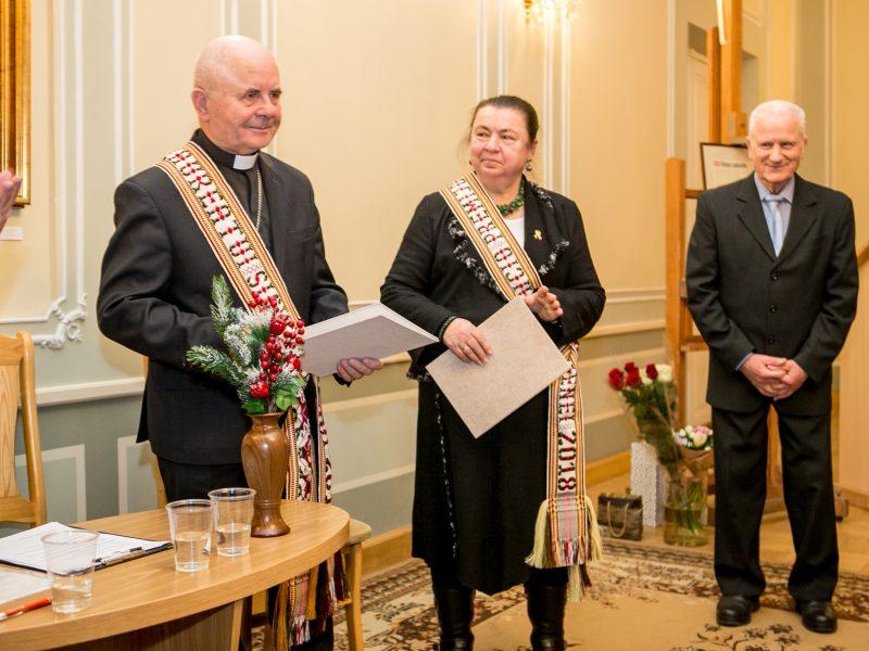 S. Lozoraičio premija įteikta ne vienam, o dviem laureatams