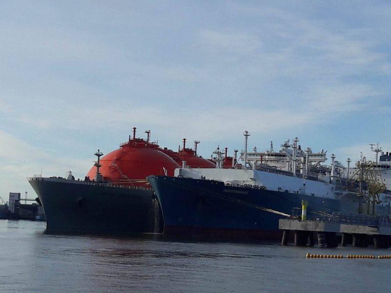 SGD terminalo pajėgumai rezervuoti kroviniui iš JAV