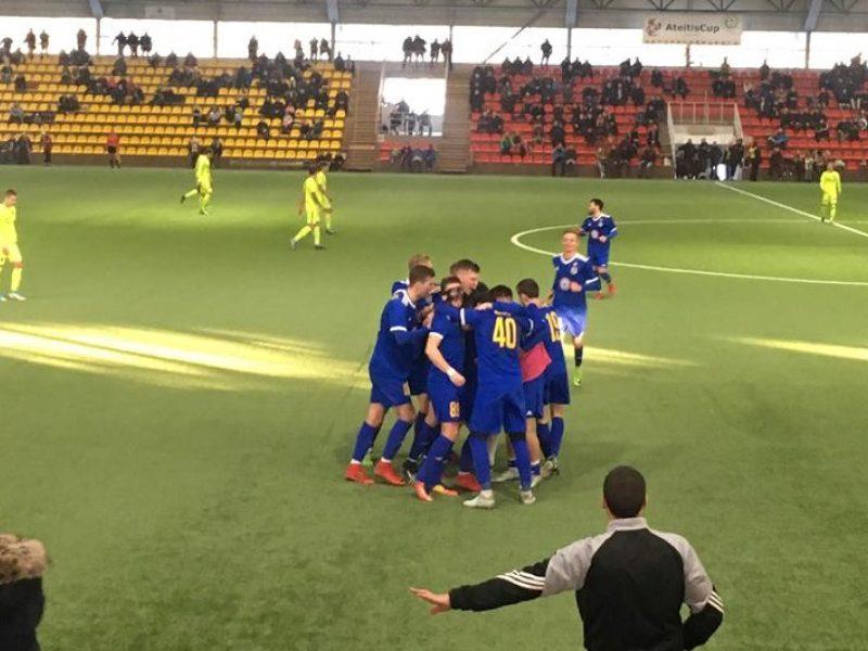 """""""Atlanto"""" futbolininkai Vilniuje nugalėjo """"Trakus"""""""