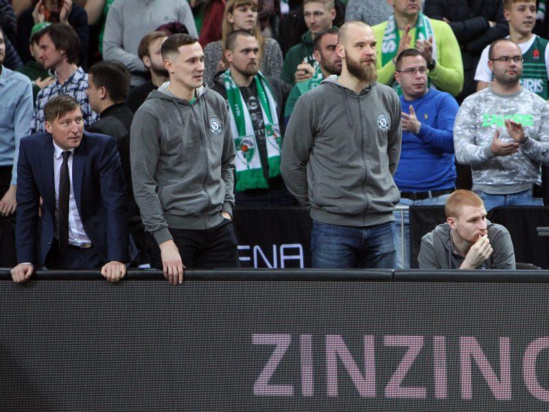 """Kaip """"Žalgiris"""" atrodys be antro svarbiausio žaidėjo Eurolygoje?"""