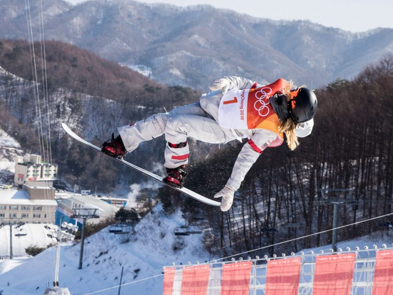 Olimpine čempione tapo JAV septyniolikmetė snieglentininkė