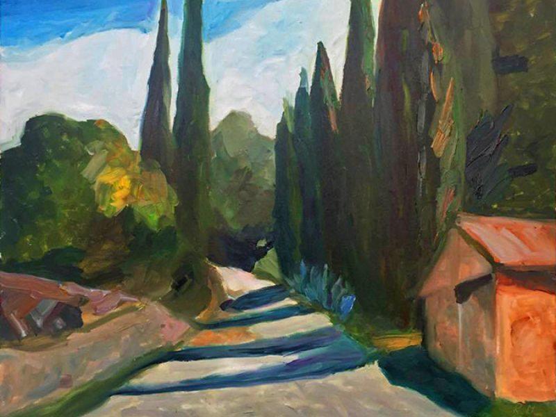 Italijos šviesos įkvėpta kūryba