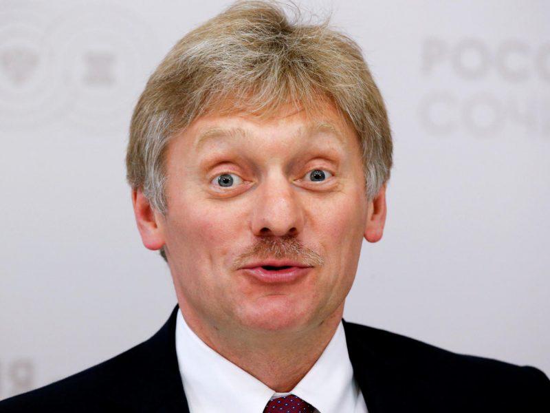 D. Peskovas: Maskvos kantrybė dėl JAV negrąžinamų diplomatinių objektų senka