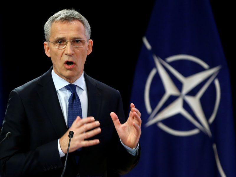 NATO vadovas perspėja ES dėl gynybos pakto