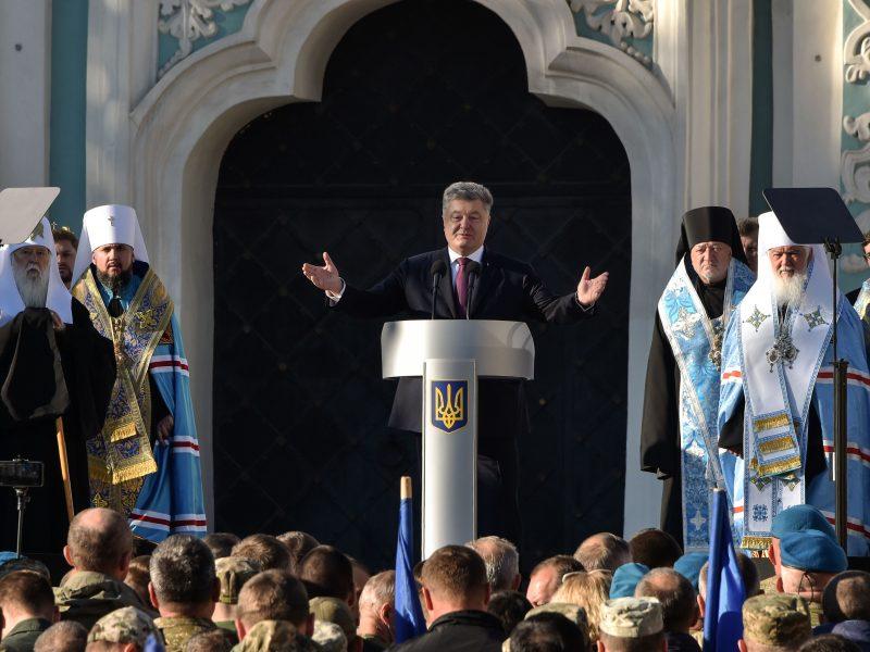 Ukrainos prezidentas: Rusijos Ortodoksų Bažnyčia žengia į saviizoliaciją