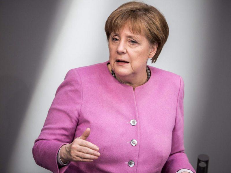 A. Merkel prieštarauja JAV sprendimui Jeruzalę pripažinti Izraelio sostine