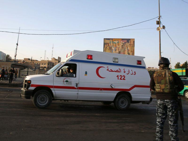 Dvigubo sprogdinimo Bagdade aukų padaugėjo iki 38