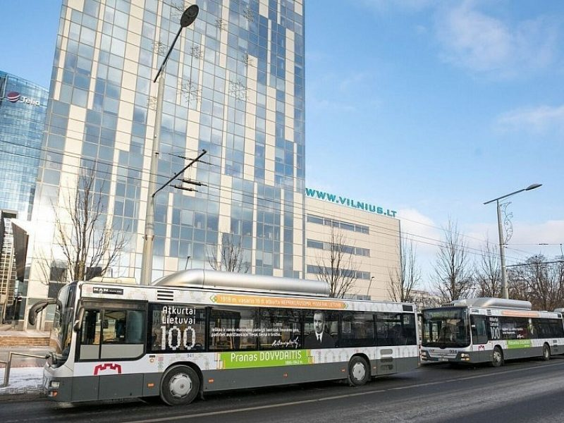 Vilniaus viešuoju transportu – daugiau kaip pusė milijono kelionių kasdien