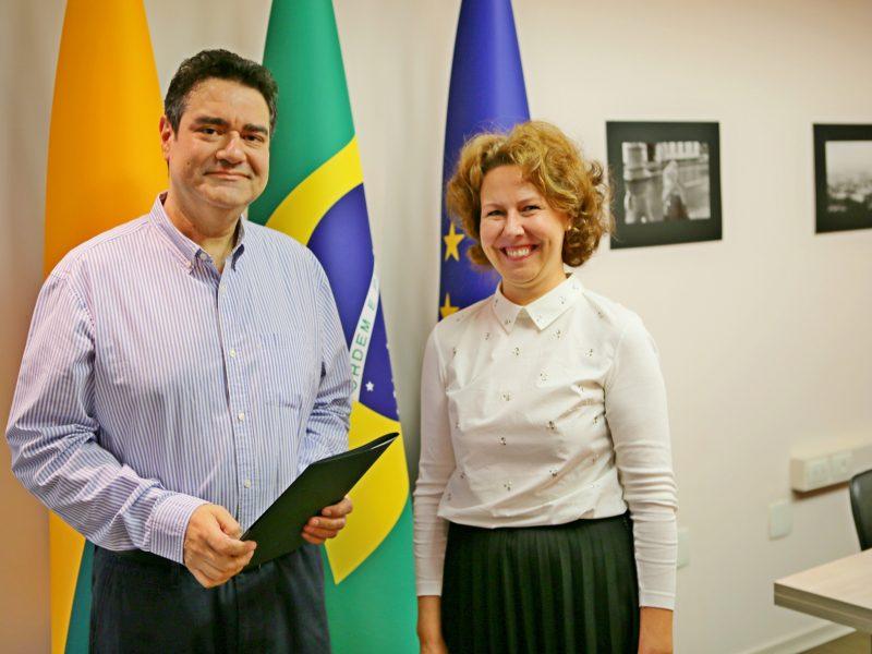 Brazilijoje pradėjo dirbti naujas Lietuvos garbės konsulas