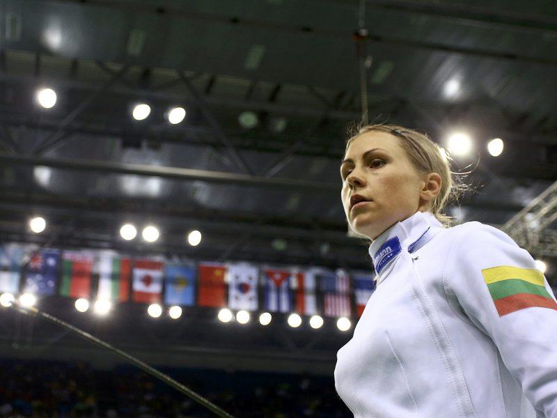 L. Asadauskaitė-Zadneprovskienė pasaulio čempionate liko be medalio