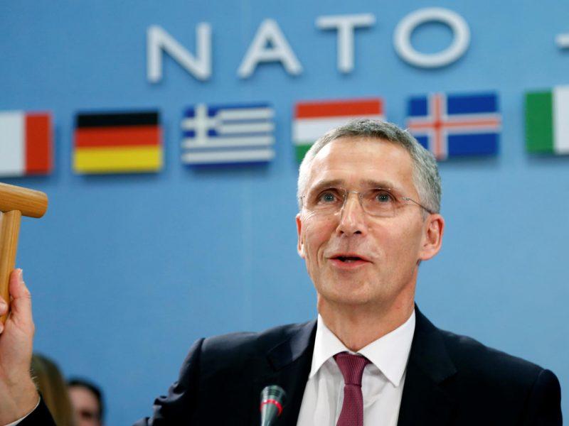 J. Stoltenbergas: Europos vienybė niekada nepakeis transatlantinės