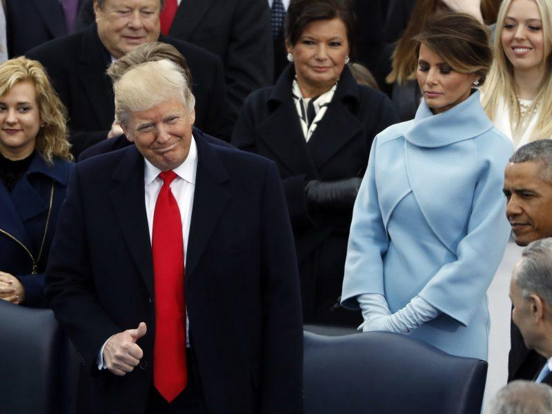 D. Trumpo inauguracija