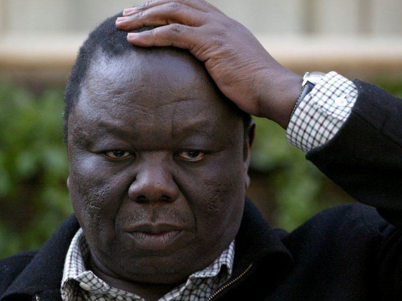 Mirė Zimbabvės opozicijos lyderis M. Tsvangirai