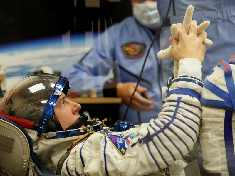"""JAV astronautas po avarinio """"Sojuz"""" nusileidimo pasirengęs vėl skristi į kosmosą"""
