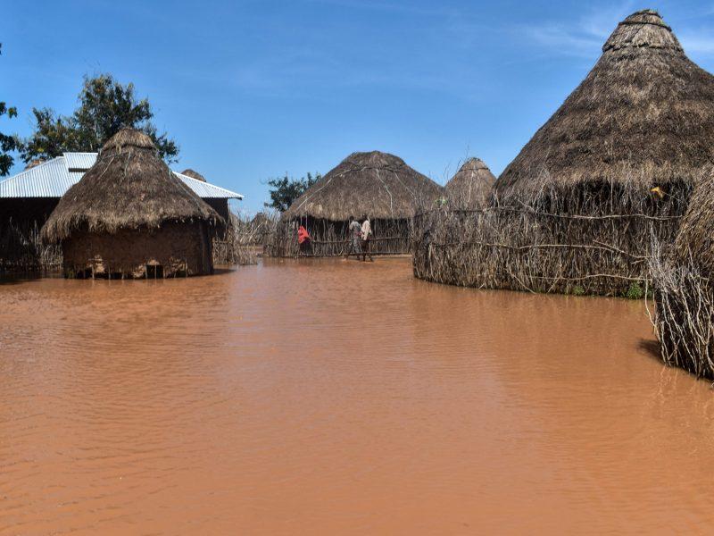 Potvyniai Kenijoje pražudė mažiausiai 100 žmonių