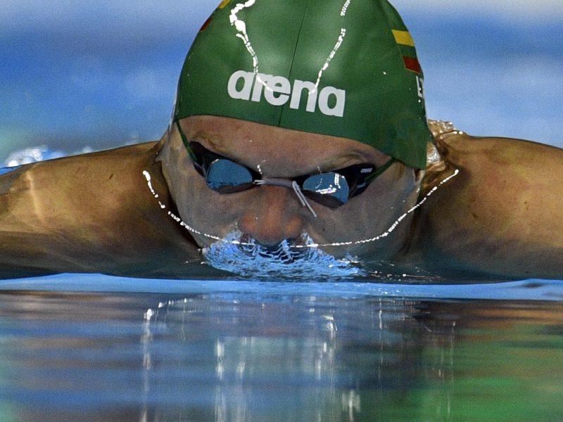 Plaukikas G. Titenis varžybose Barselonoje - aštuntas