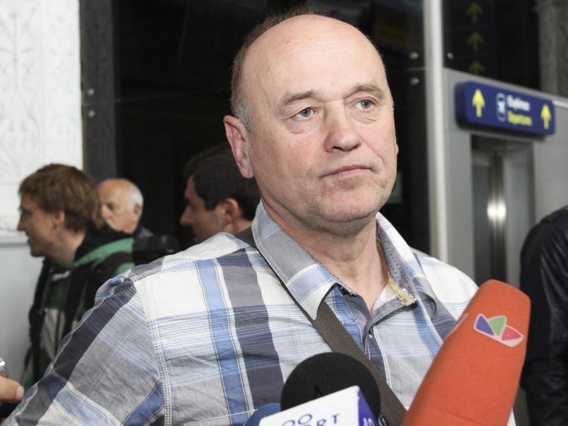 """""""Kibirkšties"""" trenerio poste A. Paulauskas keičia V. Gecevičių"""