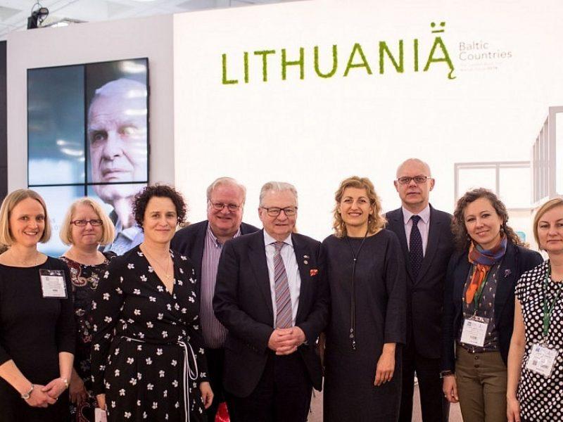 Londono knygų mugėje – didelis susidomėjimas Lietuva