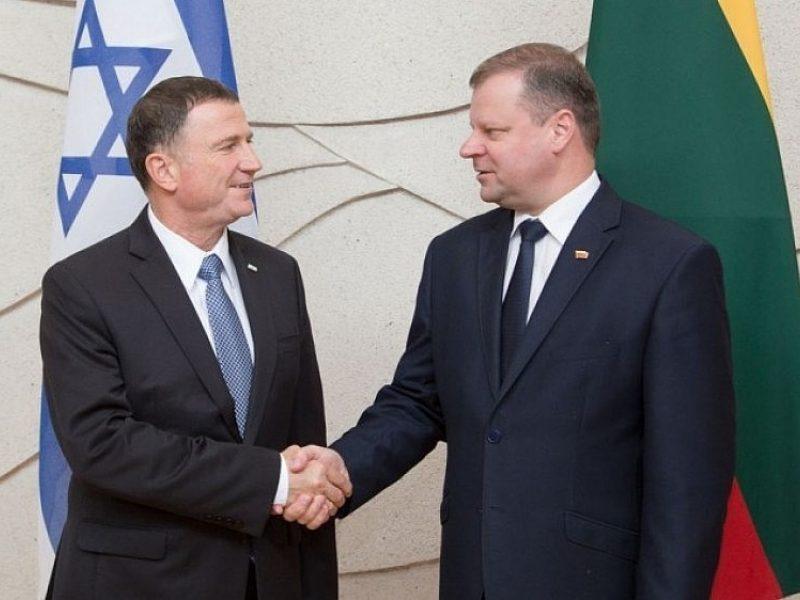 S. Skvernelis: Izraelis – mūsų strateginis partneris ir draugas