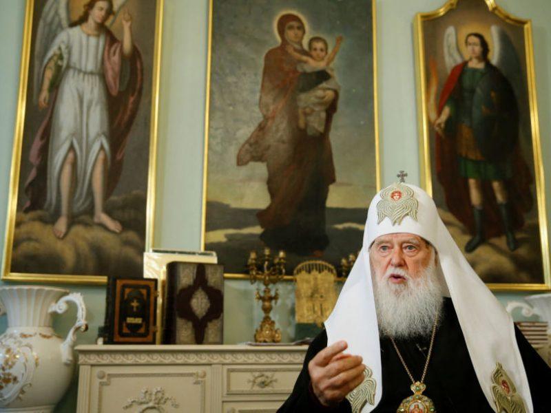 Ekumeninis patriarchatas pripažino Ukrainos bažnyčios nepriklausomybę