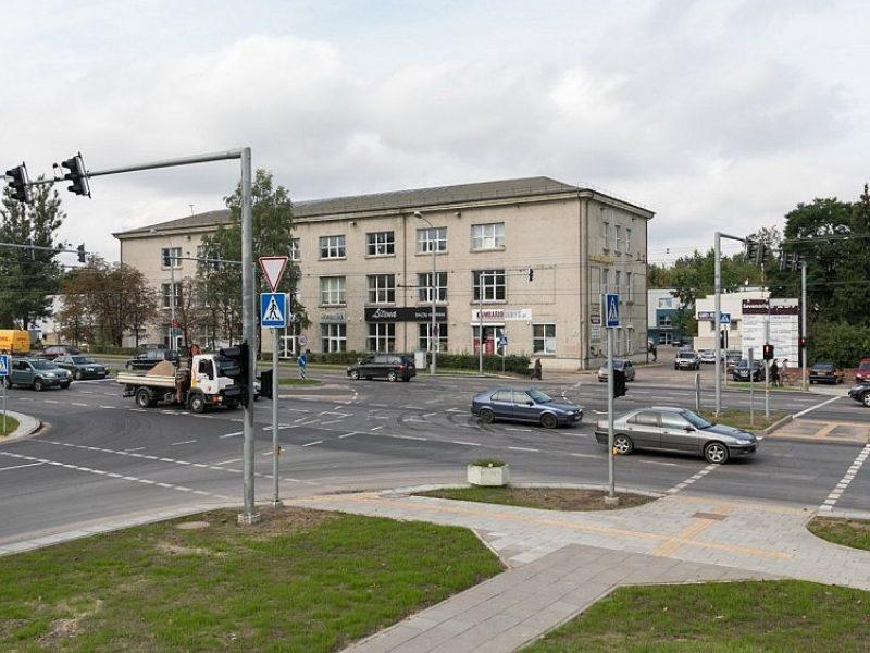 Vilniuje rekonstruota Savanorių prospekto ir Sausupio gatvių sankryža