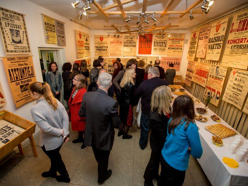 Kultūros skelbimų paroda Kauno archyve