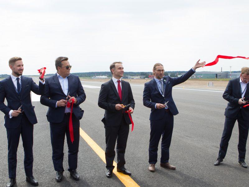 Vilniaus oro uostas vėl veikia