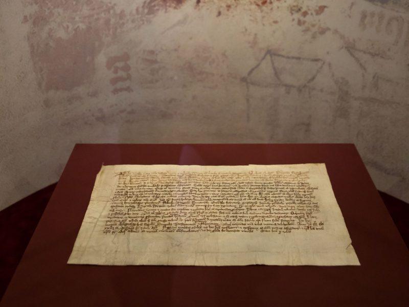 Unikalus kunigaikščio Gedimino laiškas netrukus grįš į Rygą