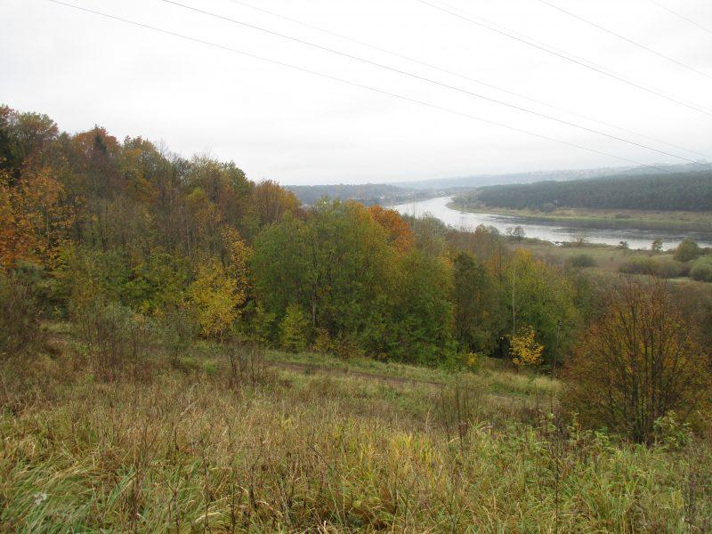 Rudens spalvos Kleboniškio miške