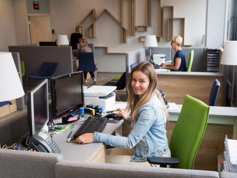 Draugiškame biure išklausys, konsultuos, patars ir vaišins kava