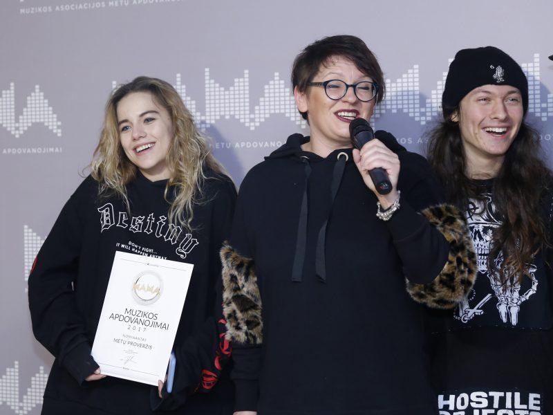 Paskelbti muzikos apdovanojimų M.A.M.A 2017 kandidatai