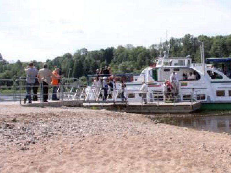 Kelionė laivu iš Kauno į Kulautuvą - įdomiausia kelionė Lietuvoje