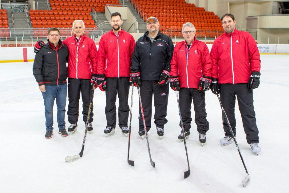 Lietuvos ledo ritulio rinktinėje – D. Zubrus ir D. Kasparaitis