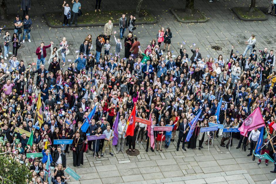 Naujus mokslo metus VDU pradės daugiau nei 600 užsienio studentų