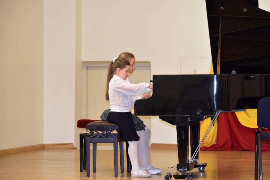 Kvietė atrasti muzikos džiaugsmą