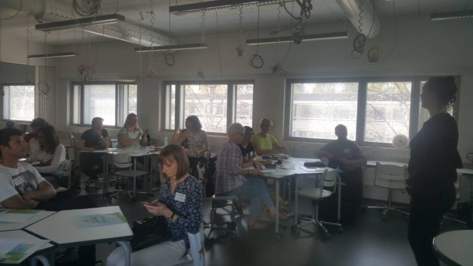 Klaipėdos licėjuje tarptautinių projektų gausa: mokosi ir mokiniai, ir mokytojai