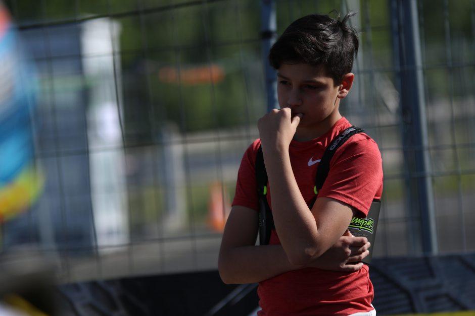 Italijoje lietuvis varžysis su perspektyviausiais pasaulio lenktynininkais