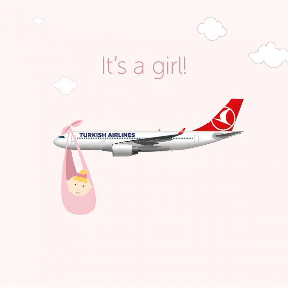 Turkijos lėktuve keleivė pagimdė kūdikį