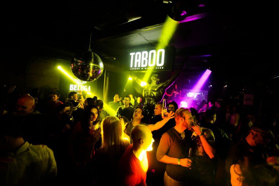 """""""Taboo"""" klube – vakarėlis tarp žemės ir dangaus"""