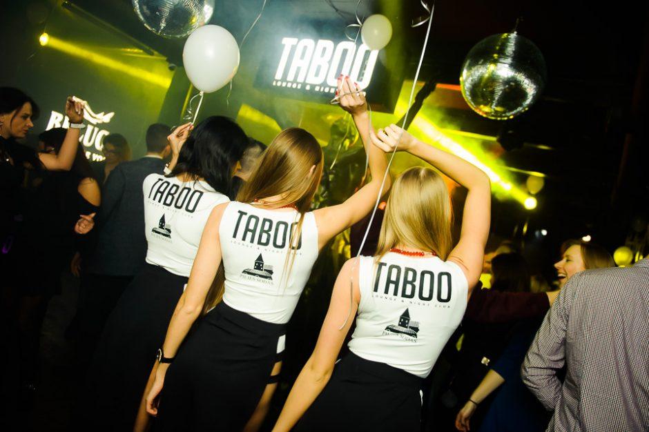 """""""Taboo"""" klubas atidarė naują sezoną"""