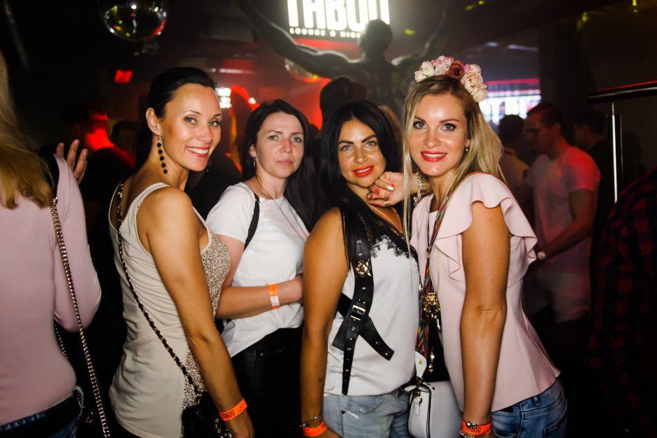 """Užsieniečius """"Taboo"""" klube sužavėjo Lietuvos merginos"""