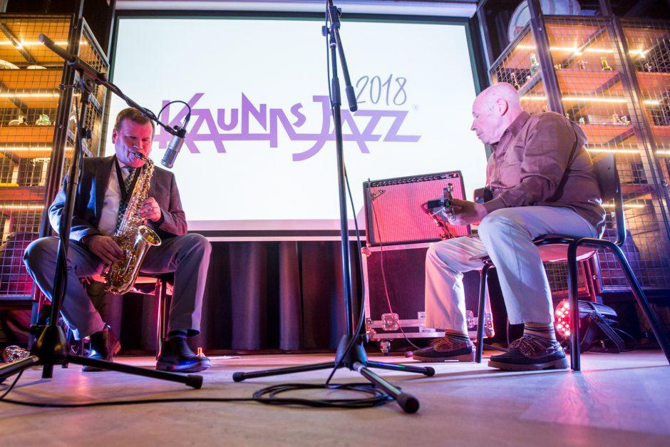 """Kaunas Jazz"" koncertas ""Volfo Engelmano Studijoje"""