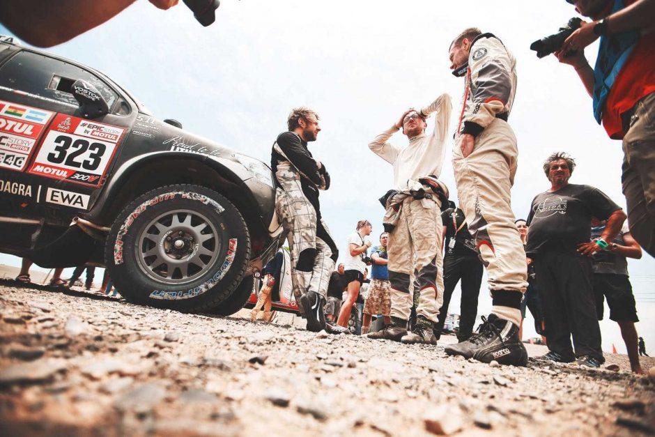 Penktą Dakaro dieną – atokvėpis B. Vanagui