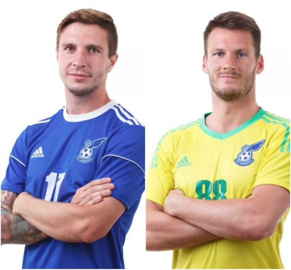"""""""Jonava"""" pratęsė sutartis su A. Osipovu ir T. Simaičiu"""