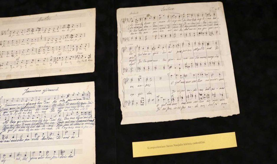 J. Naujalis skambės ir tradiciškai, ir XXI amžiaus ritmu