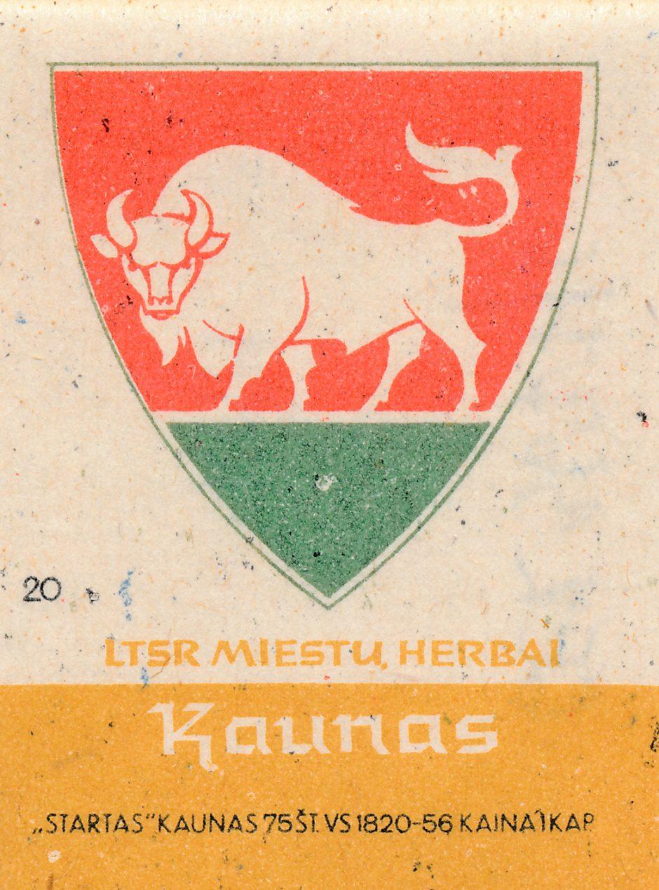Kauno herbas: sovietinės okupacijos laikai